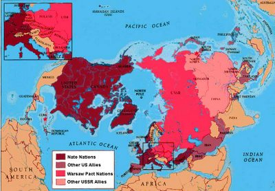 Map Of Asia During The Cold War.Jane S Modern World History Blog