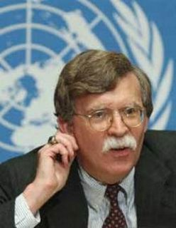 John Bolton enjoys the sound of Megadeath