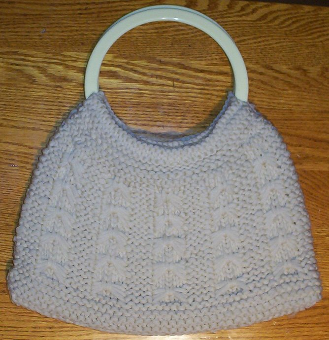 Loom Knitting Grandmas Purse