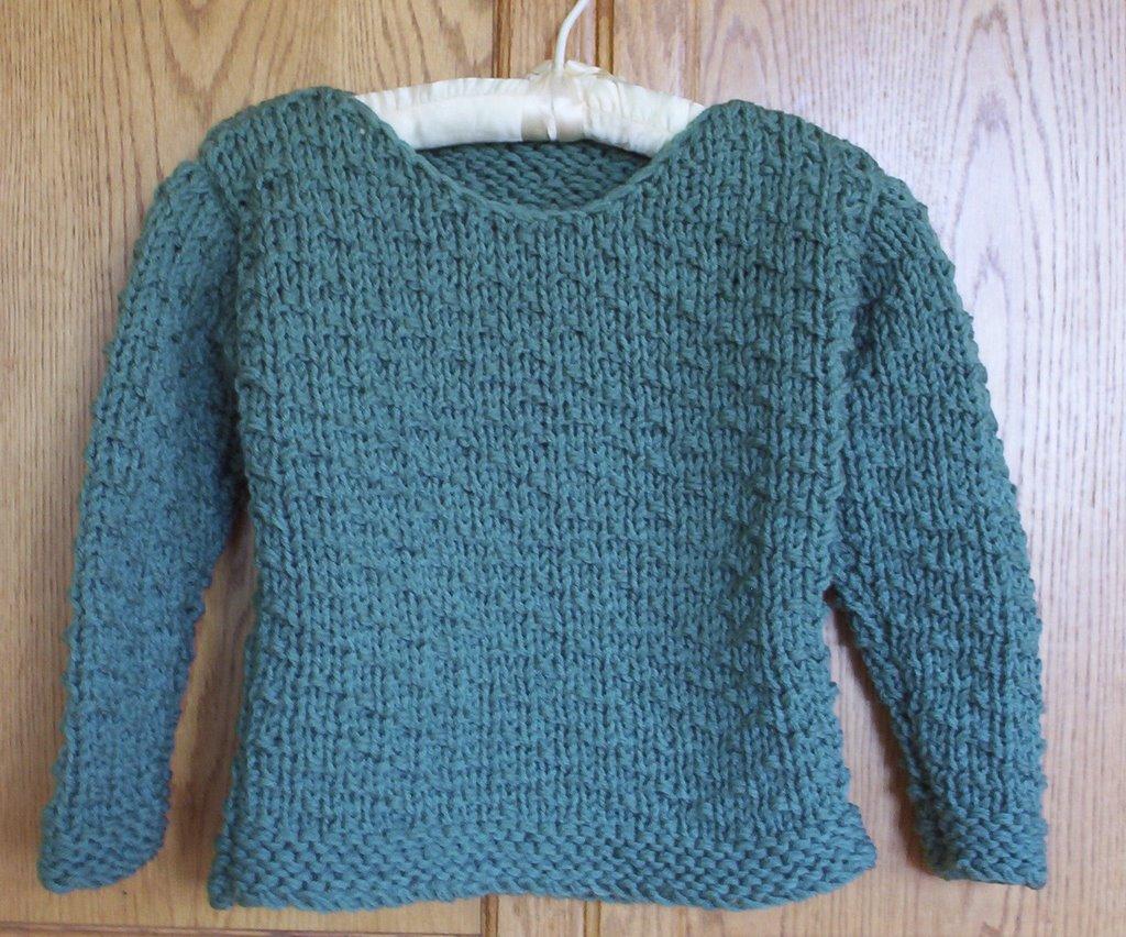 Loom Knitting Sweater