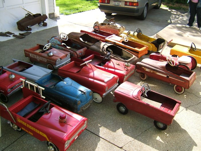 Classic Pedal Cars: Pedal Cars : For Sale