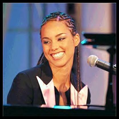 actress alicia keys smiles - photo #23