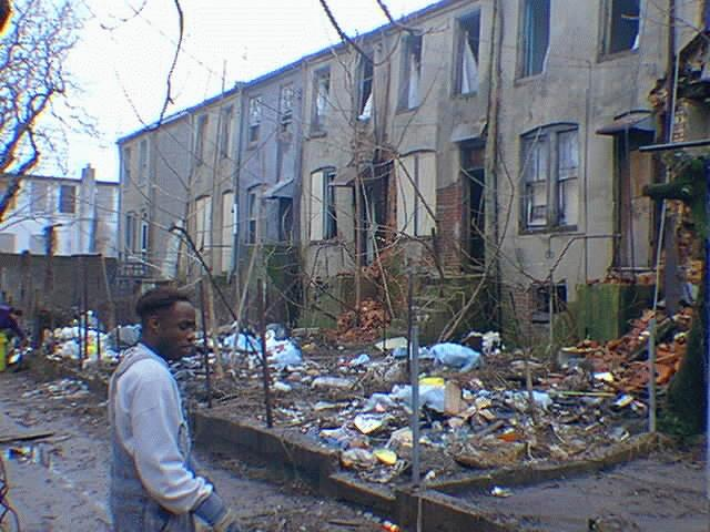 Ghetto America Baltimore Maryland
