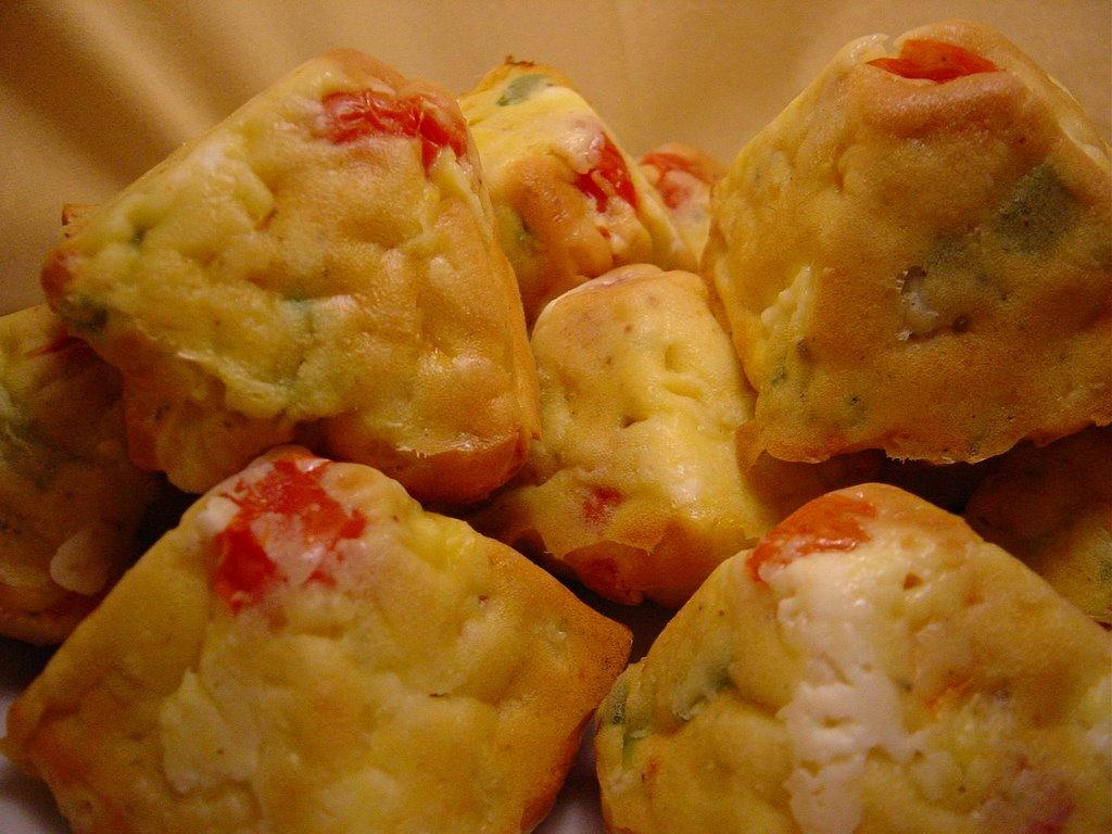 Cake Feta Poivron