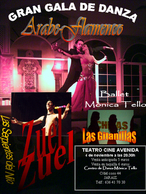 Gran Gala de Danza Árabe-Flamenco