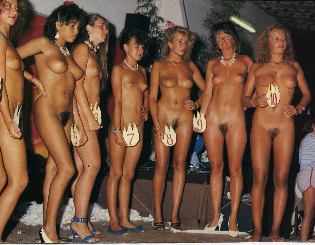 Конкурс голых и красивых женщин #7
