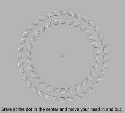 Crazy Circle Illusion