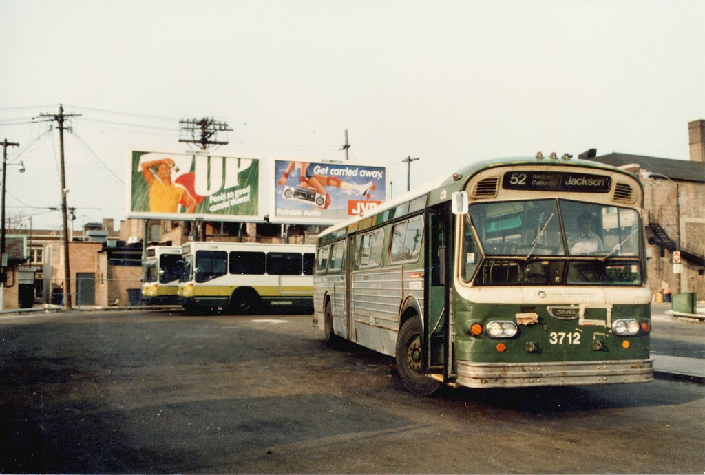 Eddie S Rail Fan Page Kedzie Avenue Bus Terminal 63rd