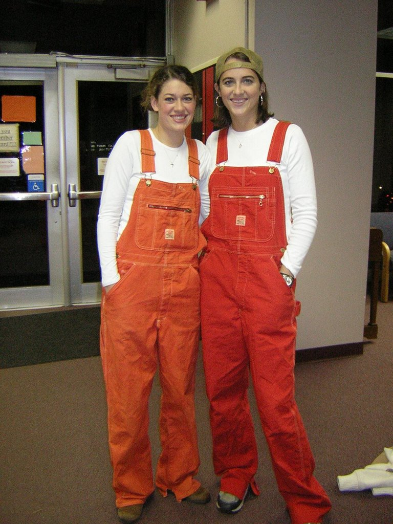 100% high quality amazing quality innovative design Women in Overalls: Clemson Overalls