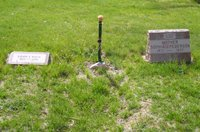 Photograph of Jane Doe's grave in Columbia Cemetery, Boulder, Colorado