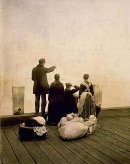 Four Ellis Island Immigrants
