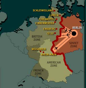 Map Of Germany During Cold War.Ekta S Modern World History Blog Cold War Project Maps