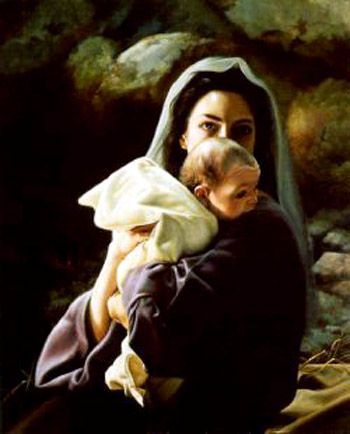 Image result for images of our lady and baby jesus