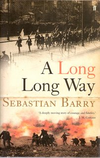 A Long Long Way bookcover; Faber & Faber
