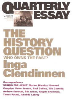 The History Question bookcover; Black Inc.
