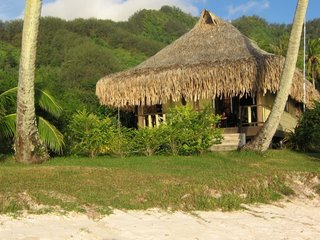 Our bungalow in Moorea