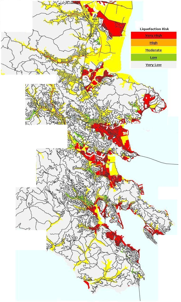 Marin Real Estate Bubble: Liquefaction in Marin
