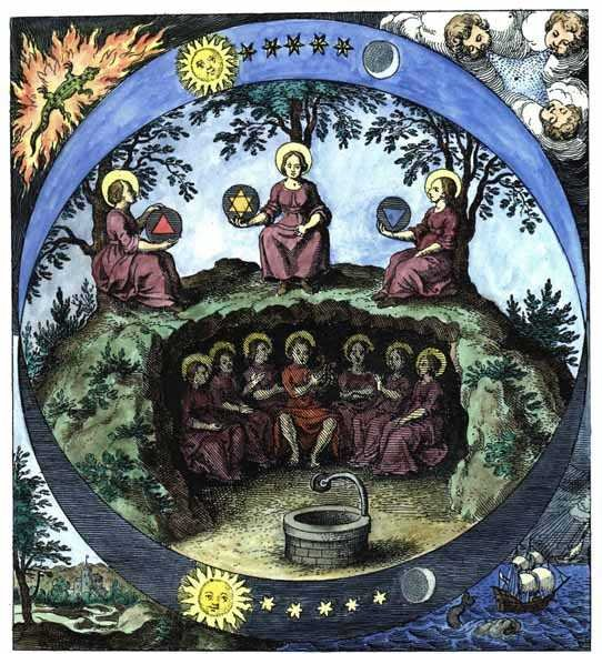 Esoterismo y Ocultismo: Imágenes y Simbolos Alquimicos II