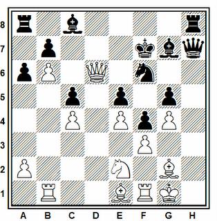 Posición de la partida de ajedrez Matukas - Chunko (Correspondencia, 2006)