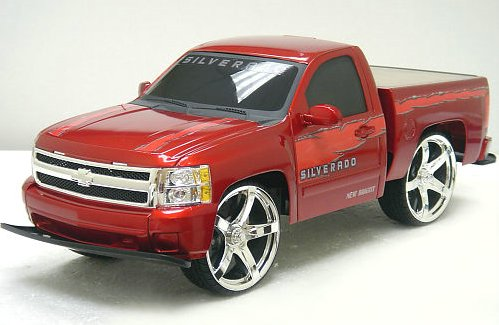 At Least One Cool Thing A Pimped Out Chevy Silverado
