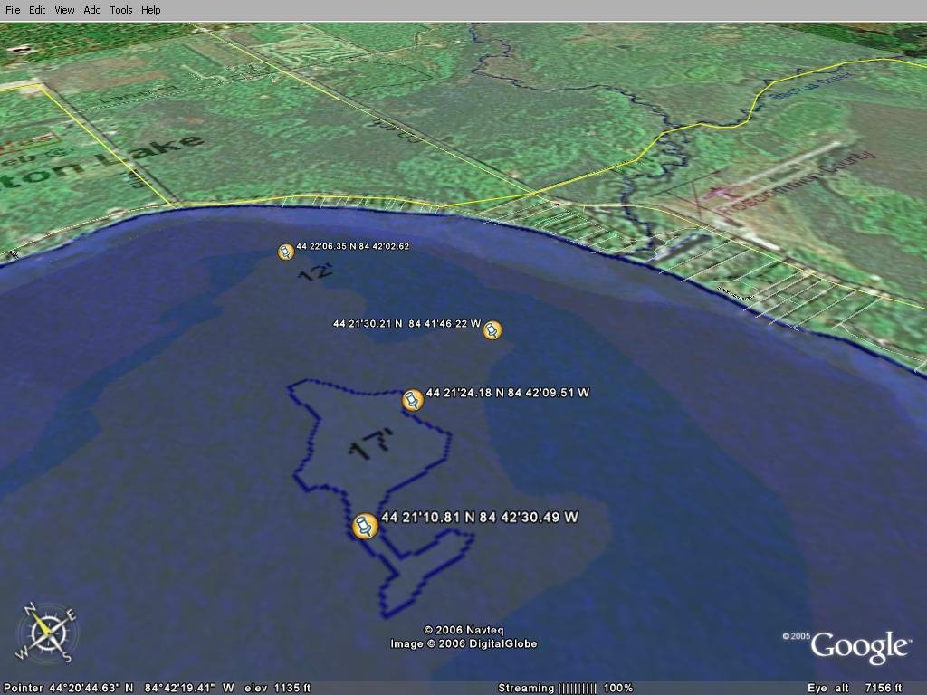 Houghton lake walleye report houghton lake gps tips for Saginaw bay fishing