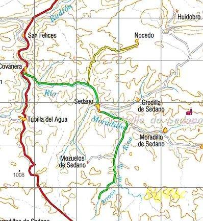 Valle De Sedano Mapa.Eleiz Alde Excursion Al Valle De Sedano 17 Y 18 De Junio De 2006