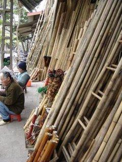 Vietnamese God: Hemp & Bamboo In Old Quarter
