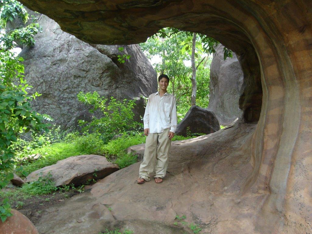 India: Tuesday, September 19 Bhimbetka Caves, Bhojpur, Muslim Family