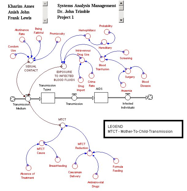 Hiv  Aids Problem Project  Preliminary Diagrams  Aids