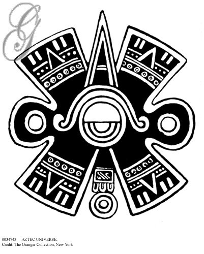 Aztec Eternal Love Symbol
