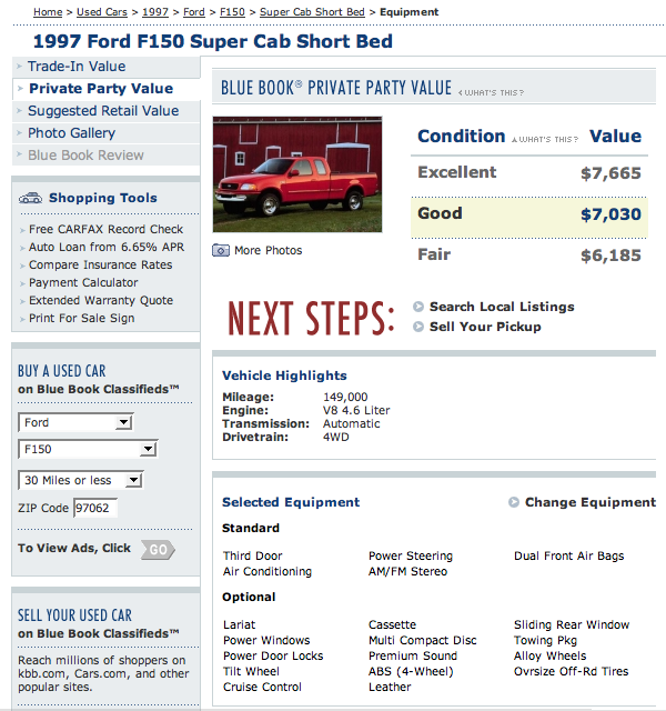 Service Manual [Kelley Blue Book Used Cars Value