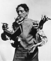 Cocteau manifested poetry through all the different media available to him