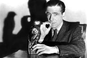 Bogart with the Maltese Macguffin