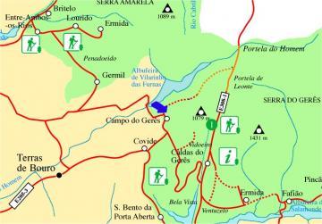 geres cascatas mapa Maravilhas deste Mundo: Gerês geres cascatas mapa