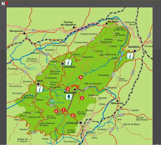 mapa turístico do parque natural da serra da estrela Parque Natural Serra Da Estrela   Lessons   Tes Teach mapa turístico do parque natural da serra da estrela