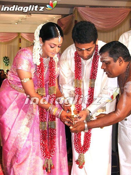 Ajith stills: Marriage Stills of Surya & Jothika