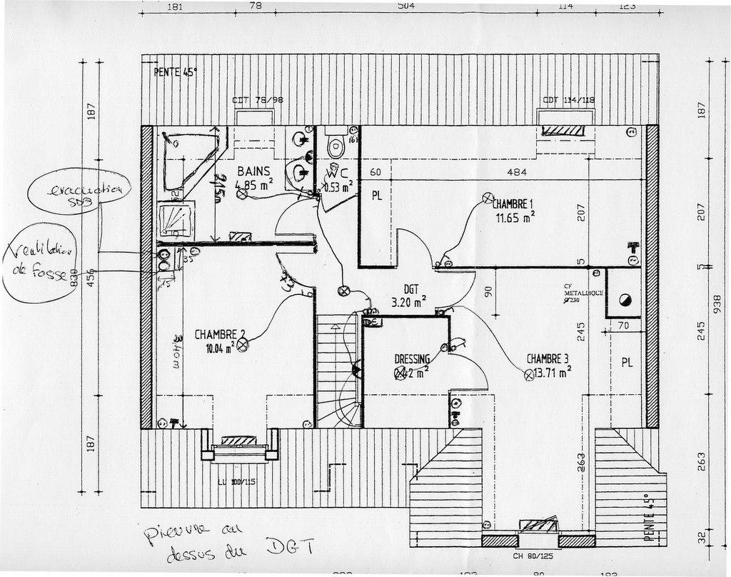 plan villa electrique maison moderne. Black Bedroom Furniture Sets. Home Design Ideas