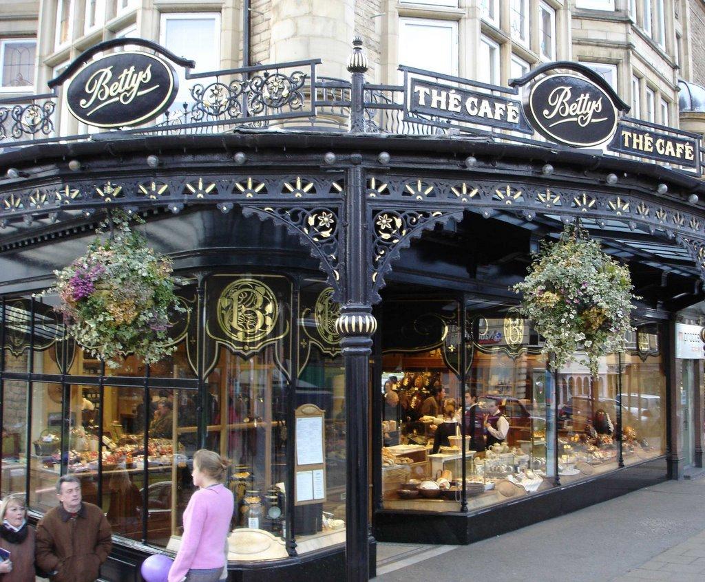 Bettys Cafe Tea Rooms London