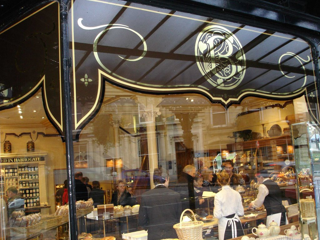 Eating History Bettys Caf 233 Tea Rooms In Harrogate Uk