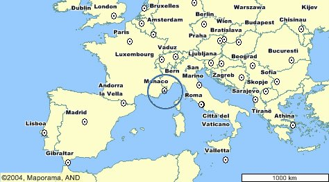 Monte Carlo World Map.Monte Carlo Landkarte Kleve Landkarte