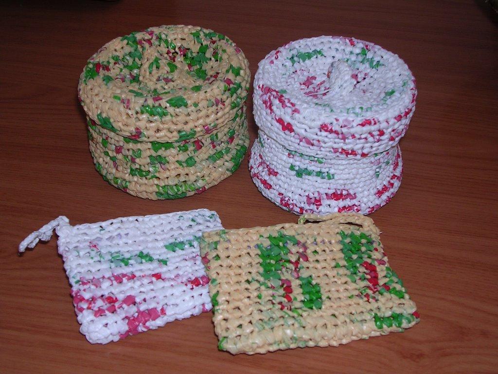 Bricologia reciclar bolsas de la compra - Cosas para reciclar ...