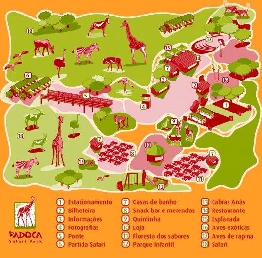 badoca park mapa localização Os Passeios da Carla: 5 Out 2006   Badoca Safari Park badoca park mapa localização