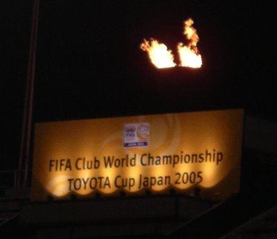 The FIFA Flame