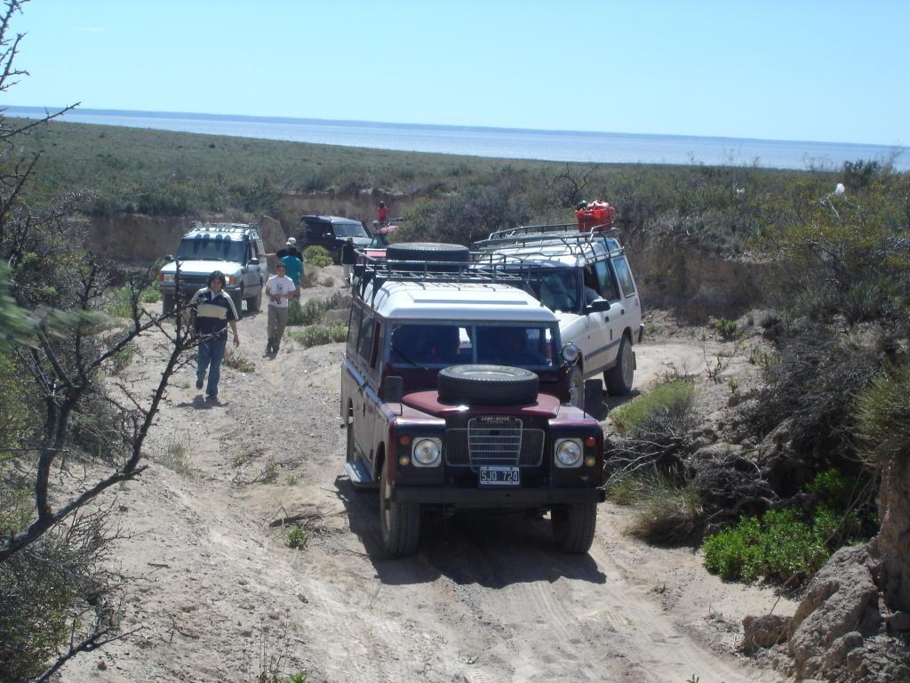 1ª encuentro patagonico del land rover club argentina