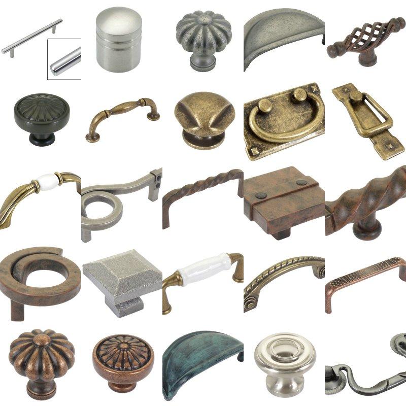 Old World Kitchen Cabinet Knobs