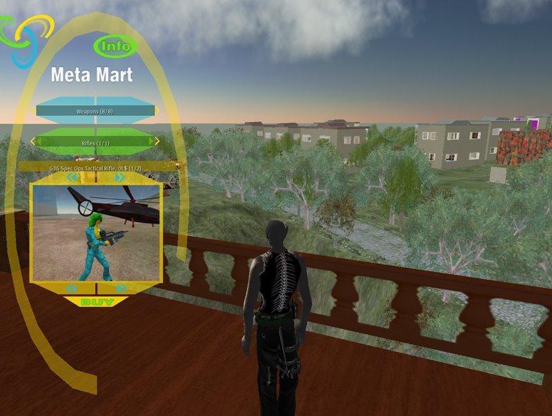 I haven't been paying attention to the world of SL shopping lately, but kaia Ennui brought the Meta Mart shopping HUD to my attention earlier today.