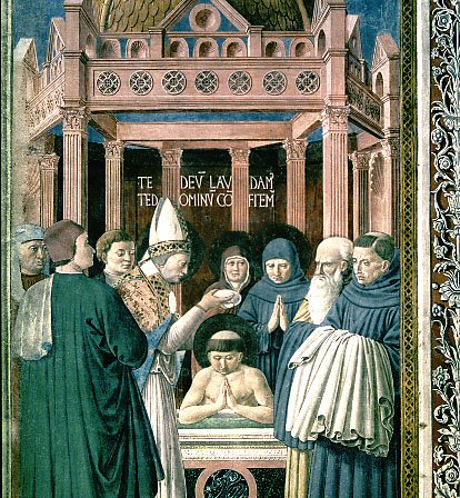 Baptism of Augustine