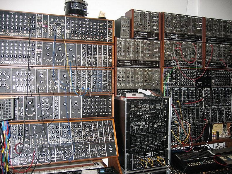 Tons Of Analog Synth Goodness. More Shots After The Hop.
