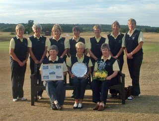 The 2006 Scottish Vets Winning Team