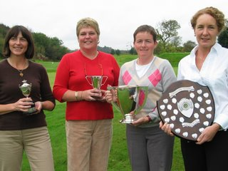 Joanna Scott(Cathkin Braes)Beartrice Orr (Kilmacolm) Donna Jackson (Cochrane Castle) and Gina McDowall (Erskine)